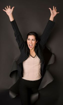 Canva - Winner Attractive Business Woman small